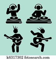 music pictograms