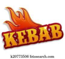 kebab sign