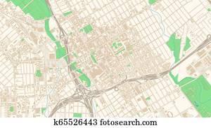 San Jose California Zip Code Map.California Zip Codes Clip Art Vector Graphics 2 California Zip
