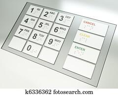 ATM keys