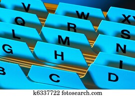 Register tabs