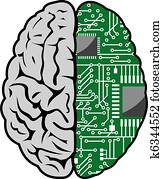Brain and motherboard