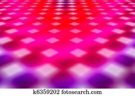 dance floor abstract background