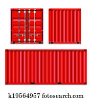Shipping, cargo containers