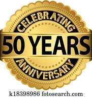 Celebrating 50 years anniversary go
