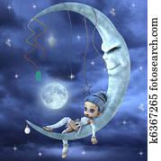 elf on the moon