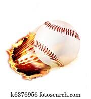 Baseball through fire