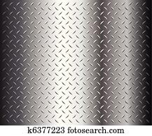 diamantteller, struktur