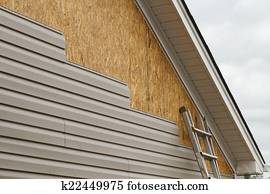 Vinyl Siding Installation On A House In The South