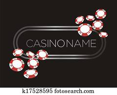 casino banner, poster, backdrop wi