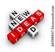 need new ideas