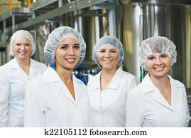 pharmazeutische fabrik, arbeiter