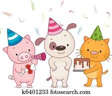Birthday Animal