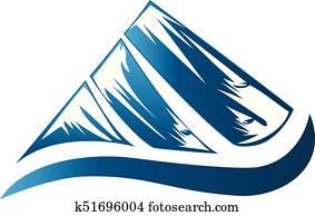 bergwelt, logo