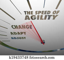 Speed of Agility Speedometer Quick Change Adaptation