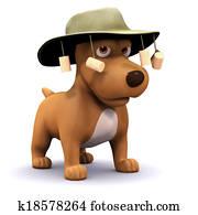 3d Dog goes to Australia