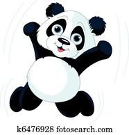 glücklich, pandabaeren