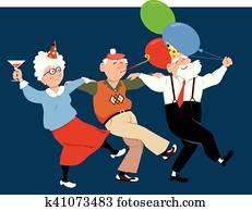 Seniors celebrate holidays