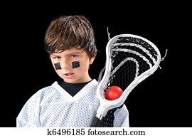 Child Lacrosse Player