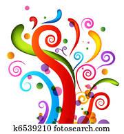 Celebration Confetti Elements