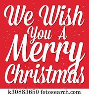 Buon Natale 883.Buon Natale Saluti Con Cappello Santa Clipart K30883630