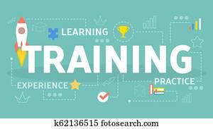 Professional training. Idea of education and coaching