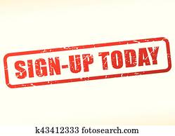 sign up today text buffered