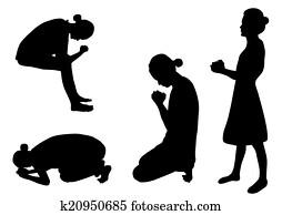 praying clipart illustrations 31 509 praying clip art vector eps