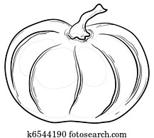 Pumpkin, contours