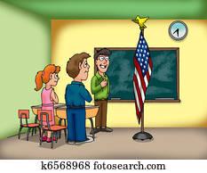 flag pledge