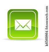 Green Contact Us Icon