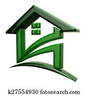 Green House for sale logo