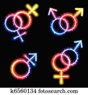 Transgender veľký péro