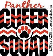 panther cheer squad