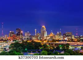 San Antonio Texas Skyline