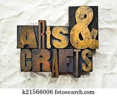 Arts & Crafts Letterpress