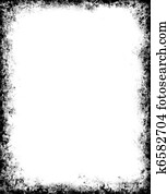 Black Grunge Frame