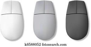 edv, mouse., vektor