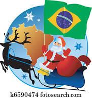 frohe weihnacht, Brazil!