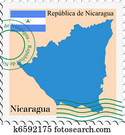 mail to/from Nicaragua