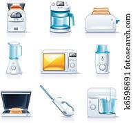 Vector household appliances. P.1