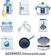Vector household appliances. P.3
