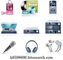 Vector household appliances. P.9