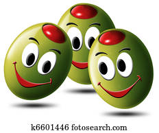 Olives filled with smile