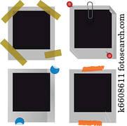 Polaroid picture frame set