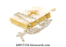 Rosary and First Communion book