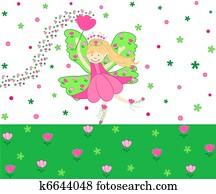 Tulips fairy