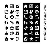 Hotel Icons - Icon Set Vector