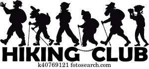 Senior hiking club