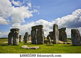 Stonehenge is aligned with the midsummer sunrise and midwinter sunset in England to celebrate the solstice.